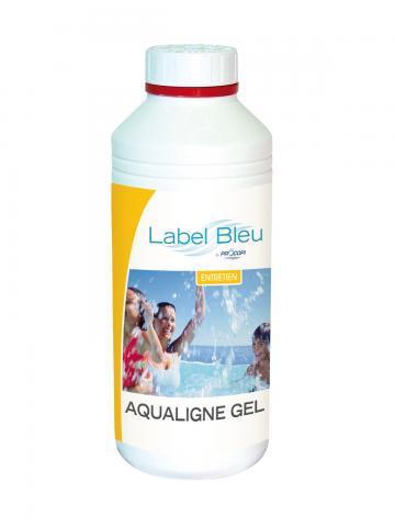 Aqualigne nettoyant ligne d 39 eau gel alcalin 1 litre for Nettoyer ligne d eau piscine