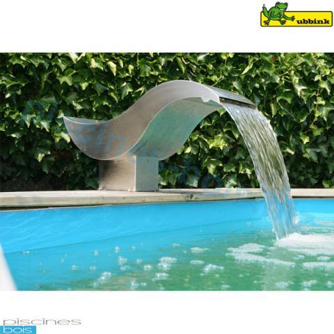 Cascade birdie led ubbink piscines bois for Fontaine piscine