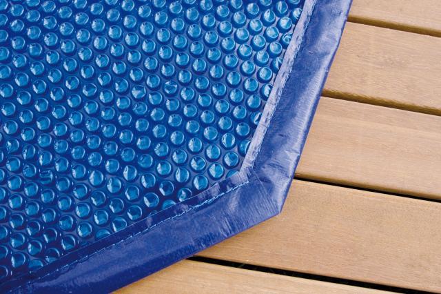 b che bulles rectangulaire 350x505cm 400 microns piscines bois. Black Bedroom Furniture Sets. Home Design Ideas
