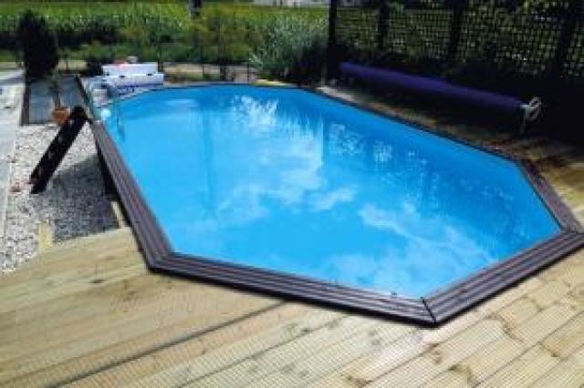 Gardipool oblong x x 1 33 margelle ipe piscine for Accessoire piscine bois