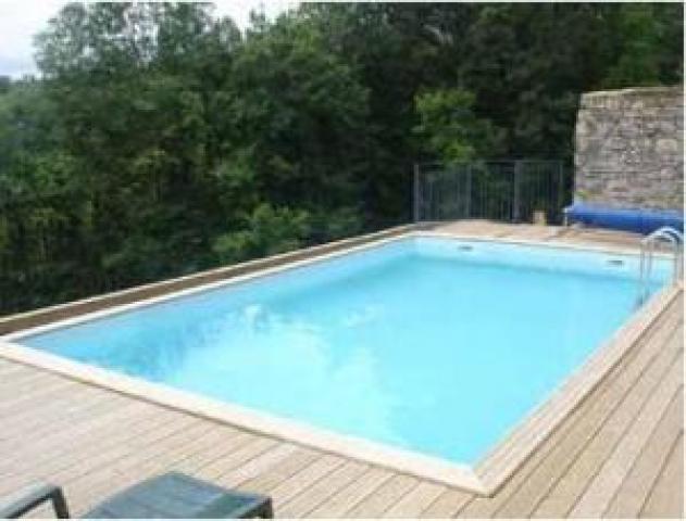 Gardipool quartoo x x 1 46 margelle ipe piscine bois piscines bois for Accessoire piscine bois