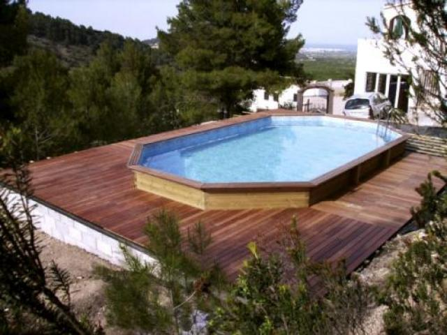 bache piscine oblong