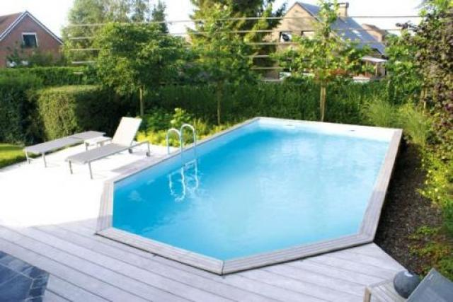 gardipool rectoo x x 1 46 margelle ipe piscine bois piscines bois. Black Bedroom Furniture Sets. Home Design Ideas
